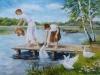 ЧЕРНОХАТОВА ДАРЬЯ, 16 лет «На мостике» Преподаватель Кизерова Тамара Аркадьевна