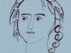 Мухаметчина Алина, портрет, преп. Первухина Л.Д.