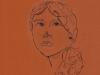 Белоусова Виктория, портрет, преп. Первухина Л.Д.
